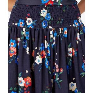 Tory Burch Blair Skirt Pansy Bouquet